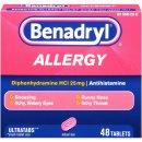 $3.5 Benadryl Allergy Ultratab Tablets, 48-Coun