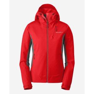 Women's Sandstone Shield Hooded Jacket | Eddie Bauer