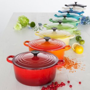 Up to 40% Off + Up to $40 Macy's Money Le Creuset Sale @ macys.com