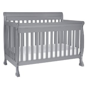 DaVinci Kalani 4-in-1 Convertible Crib with Toddler Rail, Grey