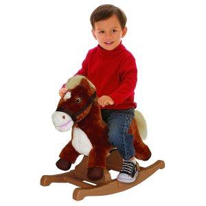 Rockin' Rider Brown Rocking Pony @ Amazon