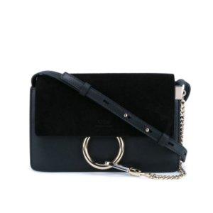 CHLOE Faye Shoulder Bag - Black