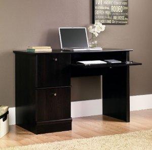 Lowest price! $90.20 Sauder Computer Desk, Cinnamon Cherry Finish