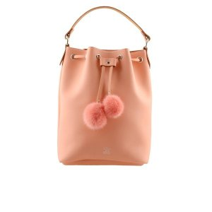 Grafea Women's Cherie Bucket Bag - Pink - Free UK Delivery over £50