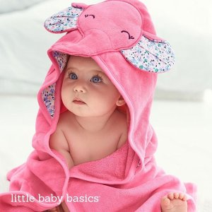 60% Off Entire Store + Extra 20% off $50 And Free Shipping! Baby and Kid Hooded Towel Sale @ Carter's
