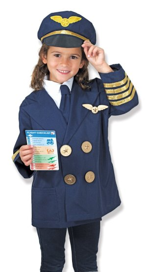 £14.99 Melissa & Doug 18500 Pilot Role Play Set