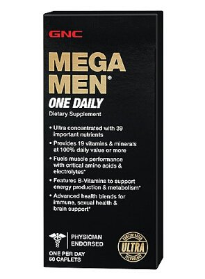 $7.99 Each Select Ultra Mega Men or Women Multivitamin @ GNC