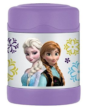 $8.99 Thermos 10 Ounce Funtainer Food Jar, Frozen Pink