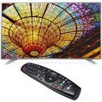$649.99 LG 55UH6550 55-Inch 4K webOS 3.0 UHD Smart TV & LG Magic Remote Control Bundle
