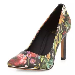 Elliott Lucca Catalina Floral Pointed-Toe Pump