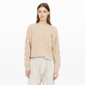 Idris Cashmere Cable-Knit