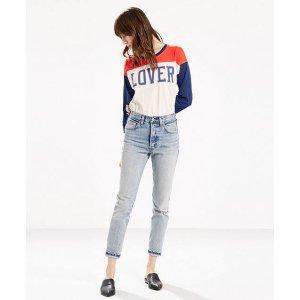 501 Selvedge Skinny Jeans   Summer Dune  Levi's® United States (US)