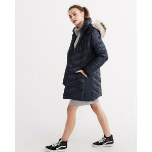 QUILTED NYLON PARKA