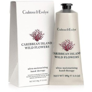 Crabtree & Evelyn Caribbean Island Wild Flowers Hand Thearpy (100g) - FREE Delivery