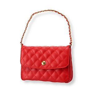 Baby Girl Poppy Red Quilted Purse at JanieandJack