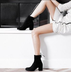 立减$100 + 包邮!Stuart Weitzman 最新款短靴热卖,大幂幂、Gigi都爱穿~