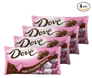 $11.66DOVE PROMISES 丝滑情人节心形巧克力-4袋