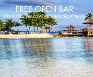 $199+The Bahamas: 4-Night Cruise on Norwegian Sky w/Open Bar