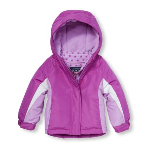 Toddler Girls Long Sleeve Colorblock Hooded 3-In-1 Jacket | The Children's Place