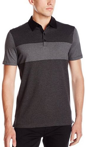 Calvin Klein Men's Slim-Fit Liquid-Cotton Short-Sleeve Polo Shirt