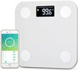 10% Off! Yunmai Mini Bluetooth 4.0 Smart Scale & Body Fat Monitor, White
