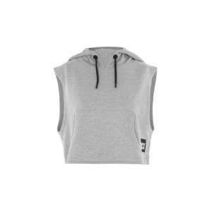 Sleeveless Cropped Hoodie by Ivy Park - Ivy Park - Clothing - Topshop USA