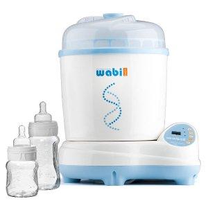 低至$90.99(原价$129.99)延长啦!Wabi 婴儿奶瓶电动蒸汽消毒烘干机