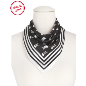 2 Pack Skull Square Neckerchief