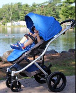 $229.99 Britax Affinity Stroller, White/Sky Blue
