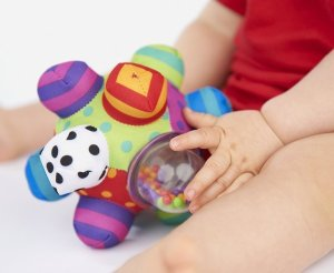 $4.99 Sassy Developmental Bumpy Ball