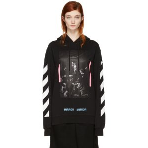 Off-White Black Diagonal Caravaggio Hoodie