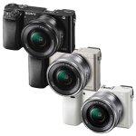 Sony Alpha a6000 Mirrorless Camera w/16-50mm Lens