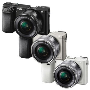 Sony Alpha a6000 Mirrorless Camera w/16-50mm Lens