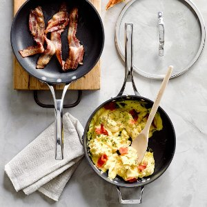 Calphalon Elite Nonstick 3-Piece Fry Pan & Sauté Pan Set | Williams-Sonoma