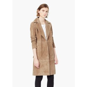 Suede trench - Women | OUTLET USA