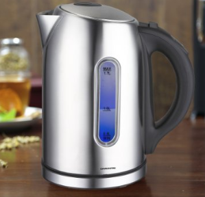 $24.99 Ovente KS88S 1.7 Liter BPA Free Temperature Control Stainless Steel Cordless Electric Kettle with Keep Warm Function, Brushed