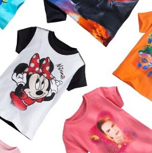 $8 Kids Graphic Tee @ disneystore