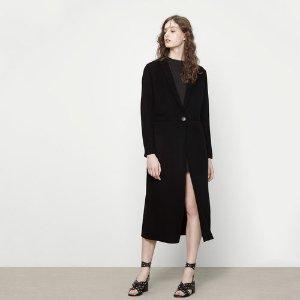 GALAXIE Camel wool men's overcoat - Coats & Jackets - Maje.com