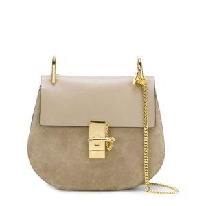 Chloe Small Drew Bag - Motty Grey