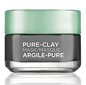 L'Oreal Paris Detox & Brighten Pure Clay Mask, 1.7 Ounce