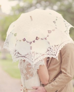 $24.99(reg.$34.99) The 1 for U The 1 for Vintage Batternburg Lace Parasol