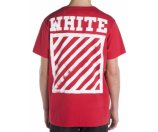 Off-White Short Sleeve Solid T-Shirt