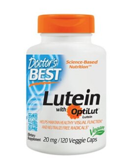 $8.07 Doctor's Best Lutein 20mg with Zeaxanthin 120 veggie caps