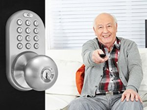 $74.99 3-In-1 Remote Control & Touchpad Doorknob