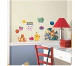 Pokemon Iconic Peel and Stick Wall Decals - Walmart.com