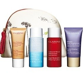 Free 5-pc Gift Setwith Orders over $100 @ Clarins