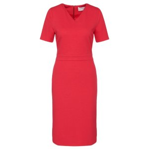 'Helala' | Stretch Viscose Textured Sheath Dress