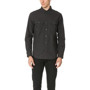 Club Monaco Slim Mini Collar Jaspe Shirt | EAST DANE | Use Code: MAINEVENT16 for Up to 30% Off