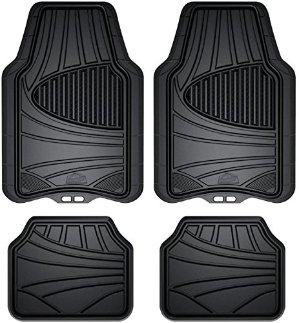 Armor All 78840 4-Piece Black All Season Rubber Floor Mat