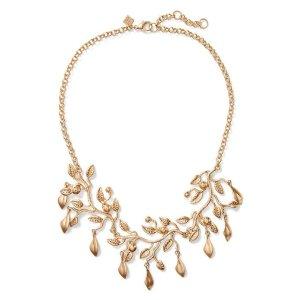Gold Leaf Necklace | Banana Republic